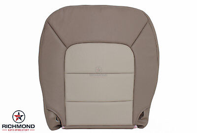 (2004 2005 Ford Expedition Eddie Bauer -Driver Side Bottom Leather Seat Cover Tan)