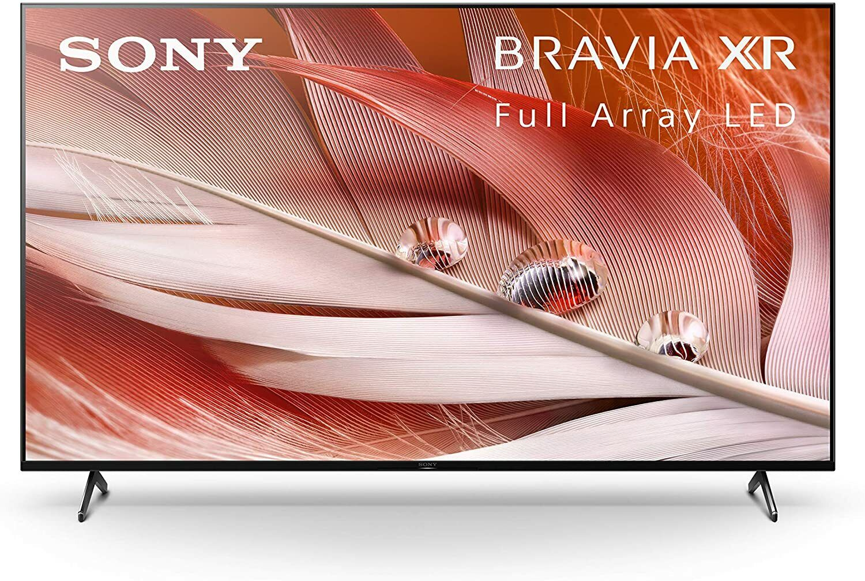 Sony X90J 65 Inch TV: BRAVIA XR Full Array LED 4K Ultra HD