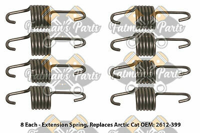 Snowmobile Exhaust Spring Replacement Kit for 2011-2013 Arctic Cat TZ1 Z1