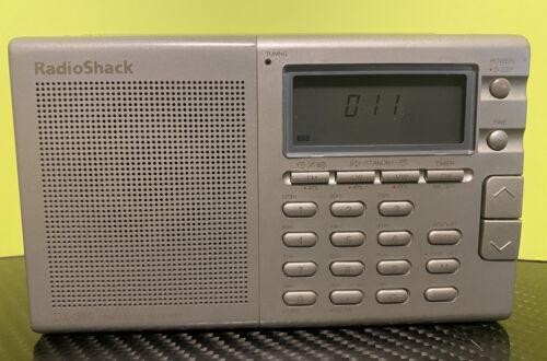 Radioshack DX-399 FM Stereo MW/LW/SW Portable Receiver Works