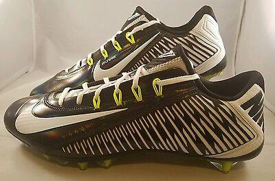 3b7fb6750105 Nike Vapor Carbon Elite 2014 TD Football Cleats Men's Size 16 Black White  $150