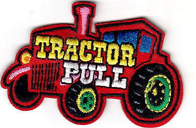 TRACTOR PULL Iron On Patch Vehicle  for sale  Shipping to India