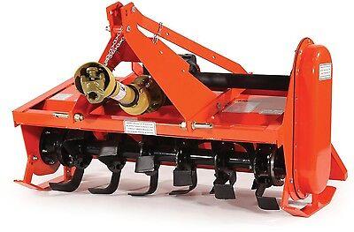 Rotary Tiller 4 Ft - 540 Rpm Gearbox - 3 Pto Rear - 25 Hp - Slip Clutch