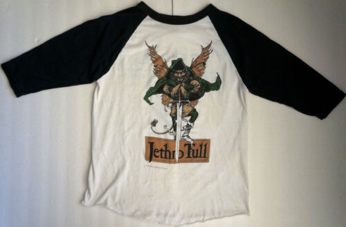 1987 JETHRO TULL Not Quite The World More The The Here & There Concert T-Shirt