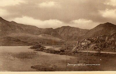 DERRYCLARE CONNEMARA CO GALWAY IRELAND IRISH POSTCARD Pub; by R JOYCE of CLIFDEN
