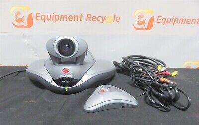 Polycom Soundstation Video Voice Conference Speaker Phone Vsx 6000 Camera Ip
