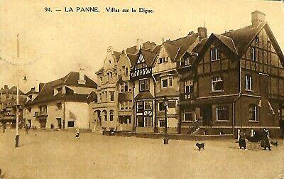 CPSM - Belgique - De Panne - La Panne - Villas sur la Digue