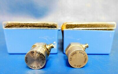 Unholtz Dickie 10b10 Piezoelectric Accelerometer Set Of 2 Untested