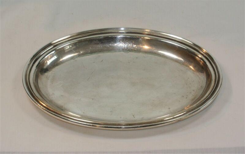 Vintage FAIRMONT HOTEL Silver Tray Platter 9 7/8 inches San Francisco California