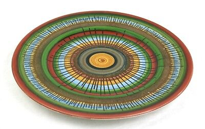 Early 20th C. Royal Doulton Plate Geometric Rare 1902-22 27 cm