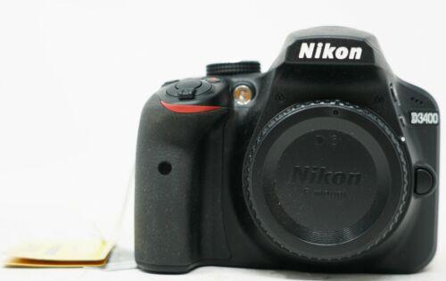 Nikon D D3400 24.2 MP Digital SLR Camera - Black (Body Only)
