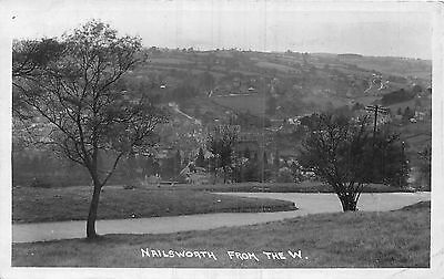 POSTCARD   GLOUCESTERSHIRE   NAILSWORTH    From  the  West    RP