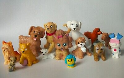 DOLLHOUSE PETS MIXED DOGS LOT BARBIE BRATZ MONSTER HIGH EVER AFTER LIV MY SCENE
