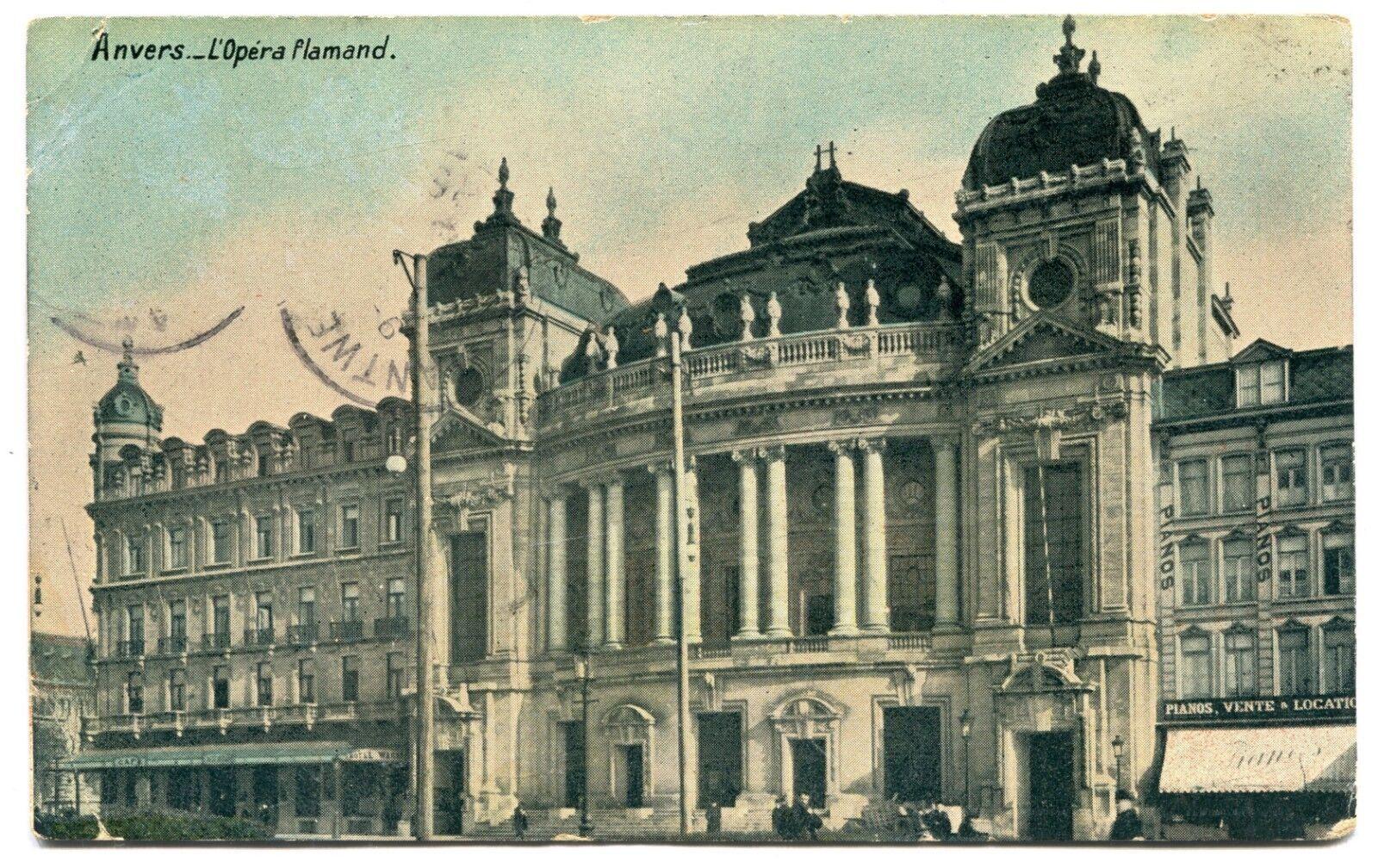 CPA - Carte Postale - Belgique - Anvers - L'opéra Flamand ( CP5265 )