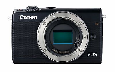 Canon EOS M100 Mirrorless Camera (Black) USA Model (Kit Box)