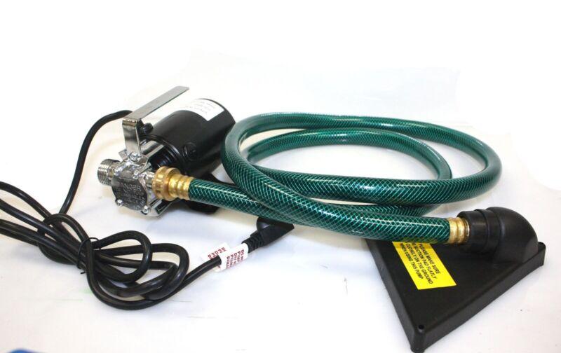 330GPH Electric Water Transfer Draining Utility Garden Pump w/6
