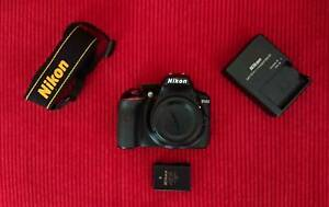 DSLR Nikon D5300 with wireless connection capability!
