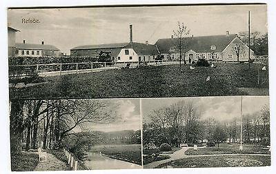 AK Refsöe Sommerstedt Nordschleswig Hadersleben Haderslev Gutshof 1913 Postkarte