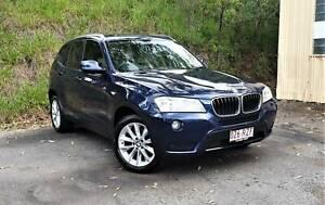 2011 BMW X3 Xdrive20d, Books, Tidy!! Everton Hills Brisbane North West Preview
