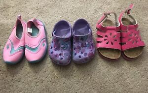 Toddler girls shoes/sandals: Size 8