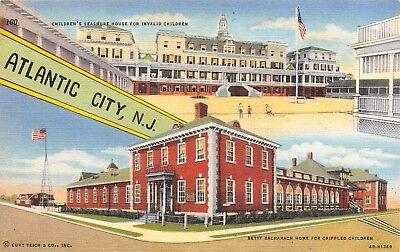 Atlantic City NJ~Seashore House Invalid Children~Betty Bacharach Crippled (Kids Atlantic City)