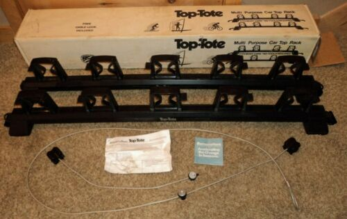 "Barrecrafters TT-210 Top Tote medium vintage Roof Width 47"" to 57"" Rack System"