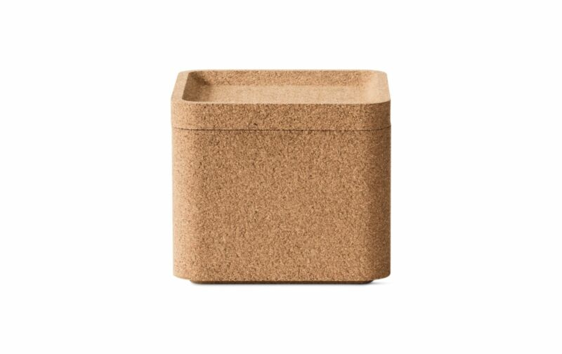 Authentic Case Furniture Trove Square Deep Box with Lid | Design Within Reach