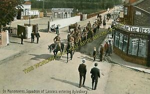 Aylesbury High Street Railway Station Photo. Cheddington Line. L&NWR
