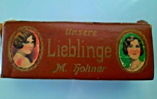 "German ""Unsere Lieblinge"" M.Hohner Harmonica Original Box"