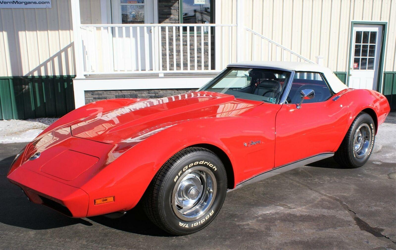 1974 Red Chevrolet Corvette  L82   C3 Corvette Photo 1
