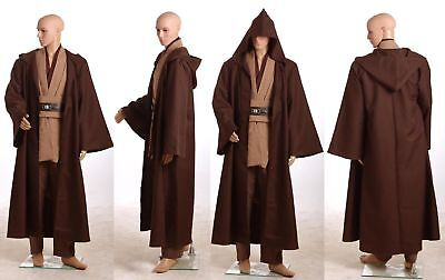 Star Wars Obi-Wan Kenobi Jedi TUNIC Costume Cosplay Simple Ver - Costume Simple Halloween