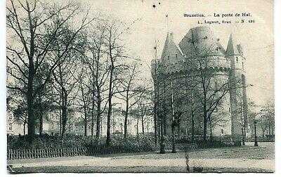 CPA - Carte Postale - Belgique - Bruxelles - La Porte de Hal - 1907 (I10023)