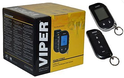 Viper Alarm Mobile 2 Way Car Pager Security System Remote Start Keyless 5706V