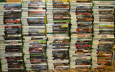 Random Lot of 20   Used Xbox360 Games VG Cond  Free Shipping Read Description