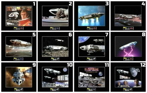 """12 SPACE 1999 Eagle Transporter 8""""x10"""" Photos - 11""""x14"""" Matted - CHOOSE ANY 1"""