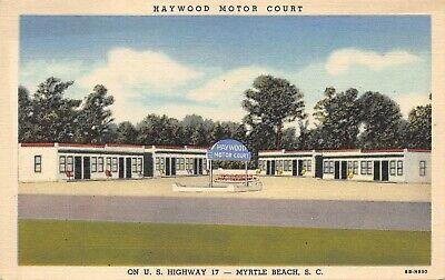 SC~SOUTH CAROLINA~MYRTLE BEACH~HAYWOOD MOTOR (Haywood Sc)