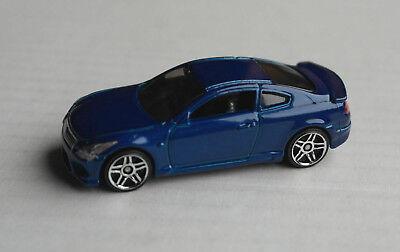 Hot Wheels Infiniti G37 blaumetallic Auto PKW Car Coupe Nissan blue blu bleu HW ()