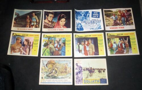 Movie Poster Lobby Card LARGE LOT Collection - AUTHENTIC GOLDEN AGE