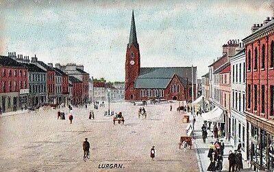 LURGAN CO. ARMAGH IRELAND HARTMANN IRISH POSTCARD No. 4099/1