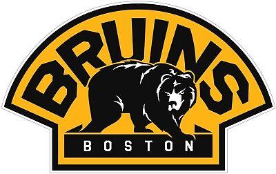 Boston Bruins NHL Color Die Cut Vinyl Decal Sticker - New Choose Size ()