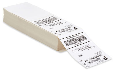 4000 Fanfold 4X6 Direct Thermal Labels  Shipping   Barcode Labels Zebra Ups