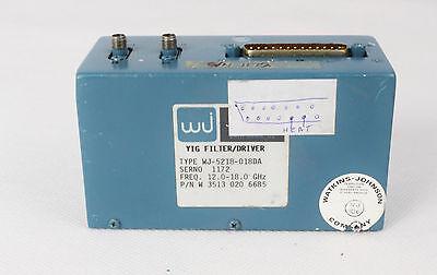 Filter Yig Watkins Johnson 12.0-18.0 Ghz Wj-5218-018da