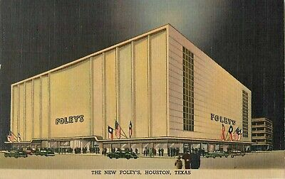 c1940 The New Foley's Department Store, Houston, Texas (Department Stores Houston Texas)
