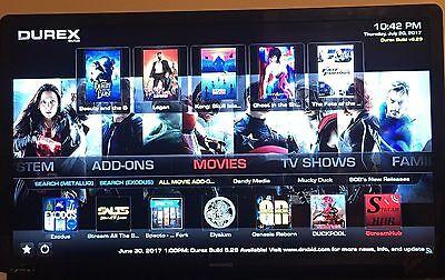 JAILBROKEN Fire Stick TV w/ K0DI 17.3 +  Newest 2017 Durex Build + Durex wizard