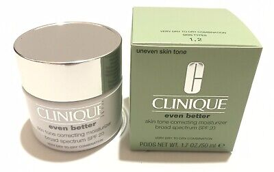 Clinique Even Better Skin Tone Correcting Moisturizer SPF20 V Dry To D 1.7oz