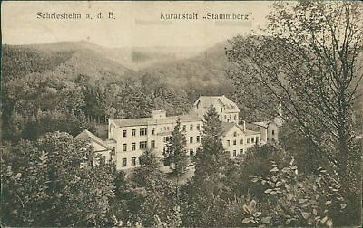 Ansichtskarte Schriesheim a.d.B. Kuranstalt Stammberg   (Nr.9036)