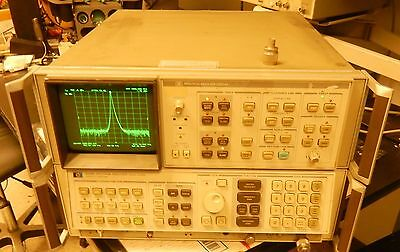 Hp 8568bdisplay Spectrum Analyzer 100 Hz - 1.5 Ghz Opt 8568ob