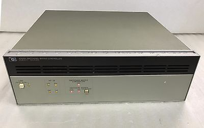 Hewlett Packard Hp 4084a Switching Matrix Controller With Standard 4 Mo Warranty