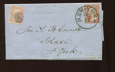 Scott 136L9 Swarts' City Dispatch Post, New York NY on Cover w/Scott 11 PF Cert