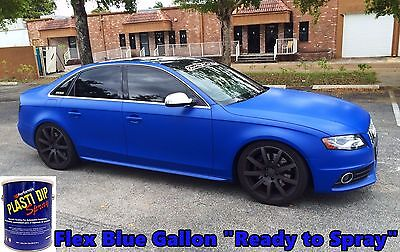 1 Gallon Flex Blue Performix Plasti Dip Ready To Spray Rubber Dip Coating